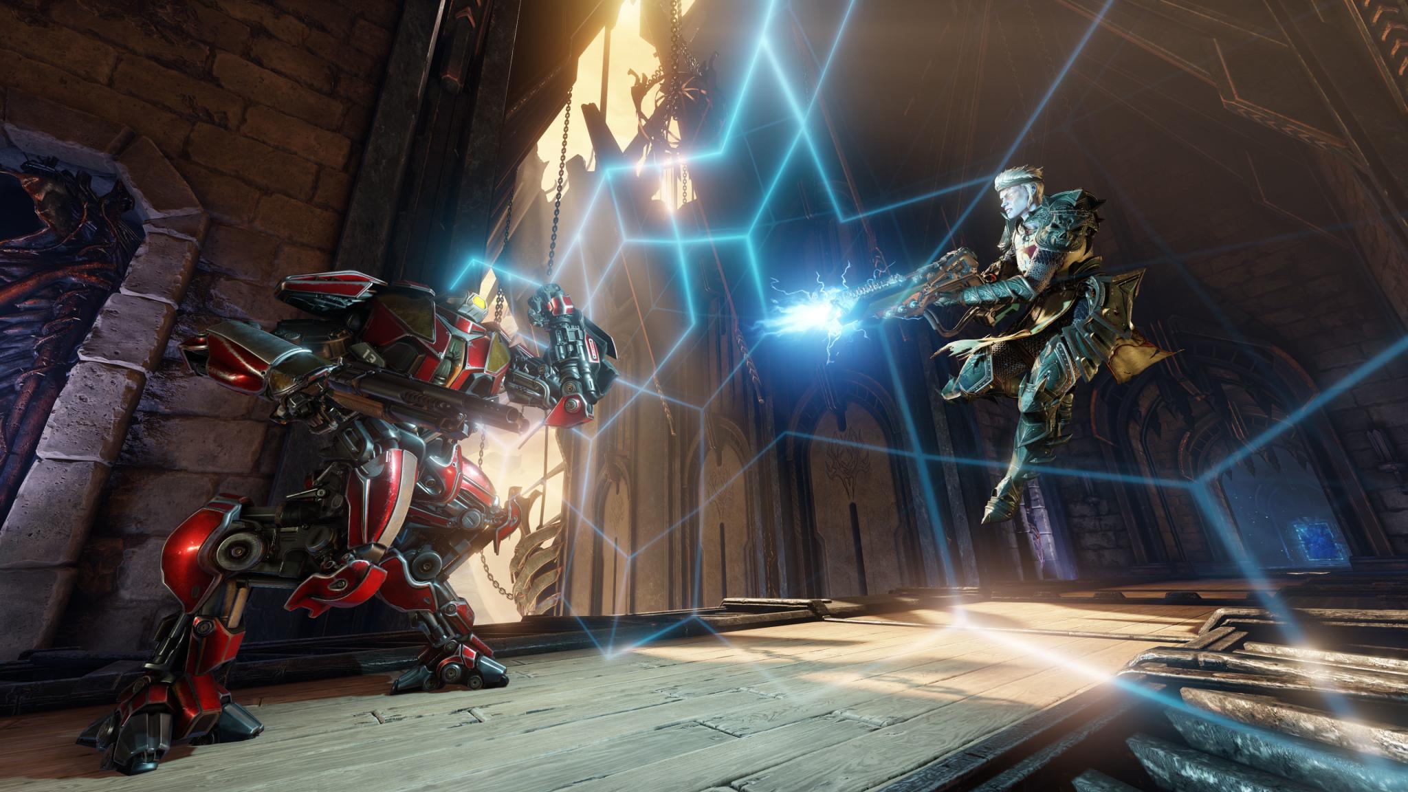 Quake Champions: annunciata una fase di test a breve