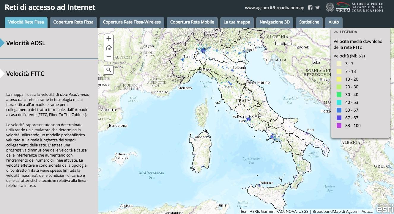 broadbandmap finalmente la mappa tlc dellitalia toms