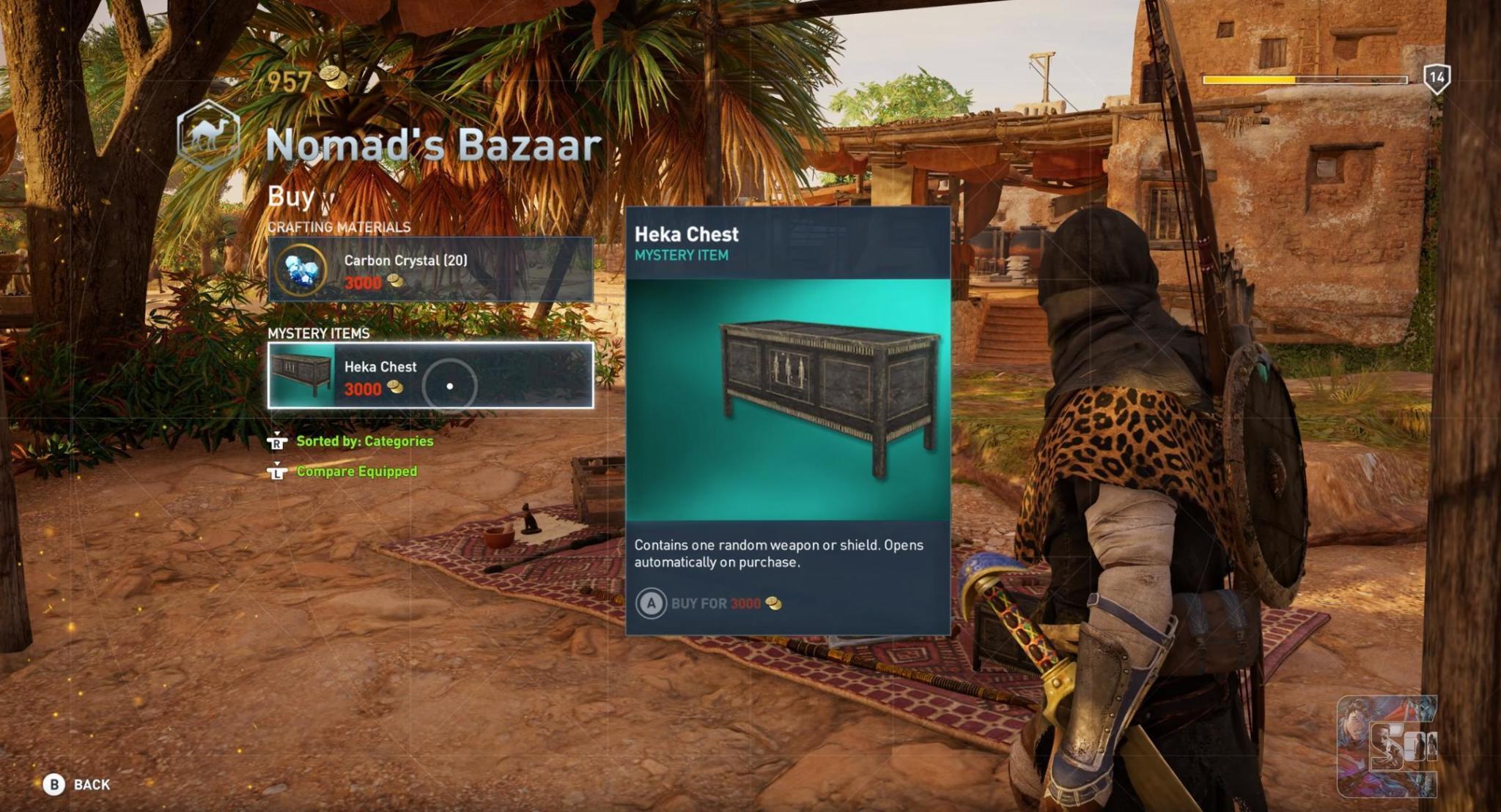 Assassin's Creed: Origins, si alle microtransazioni ma con denaro in game