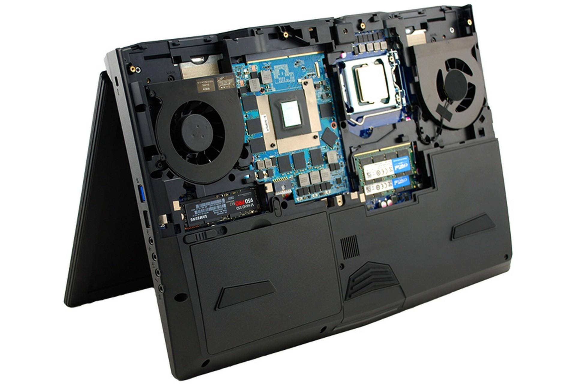 eurocom sforna i super notebook con cpu core i7 8700k tom 39 s hardware. Black Bedroom Furniture Sets. Home Design Ideas