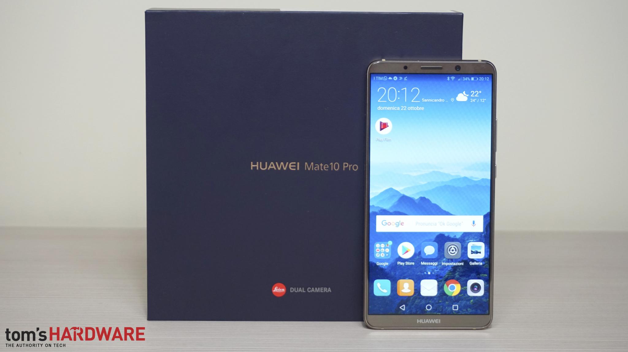 Huawei Mate 10 Lite: disponibile lo smartphone con 4 fotocamere