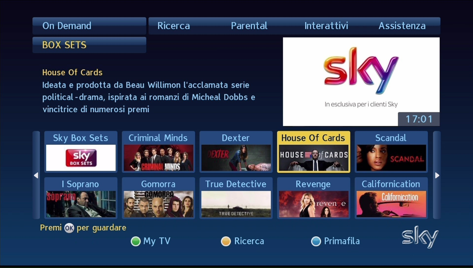 serie tv hard pure app italia