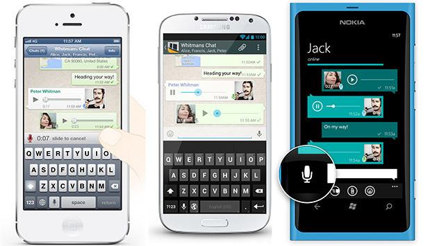 WhatsApp: arriva la registrazione vocale continua