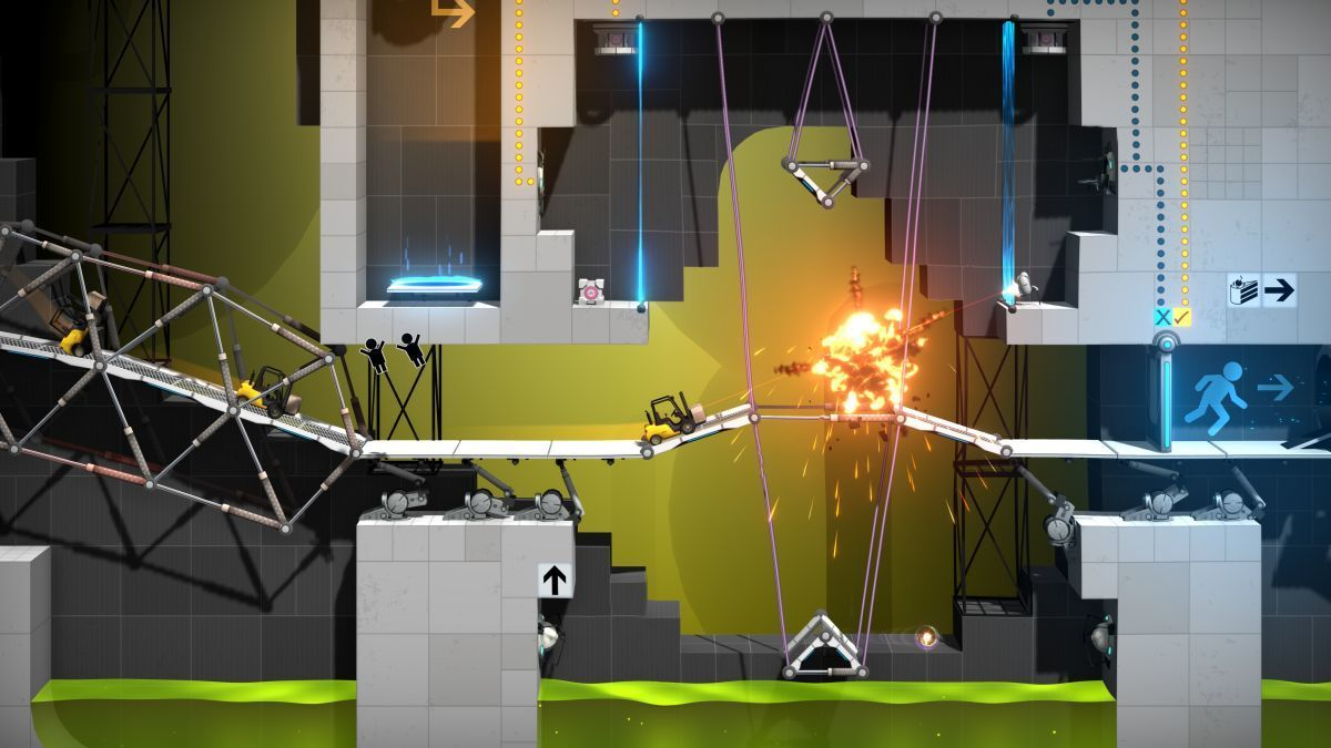 Valve e Headup Games annunciano Bridge Constructor Portal