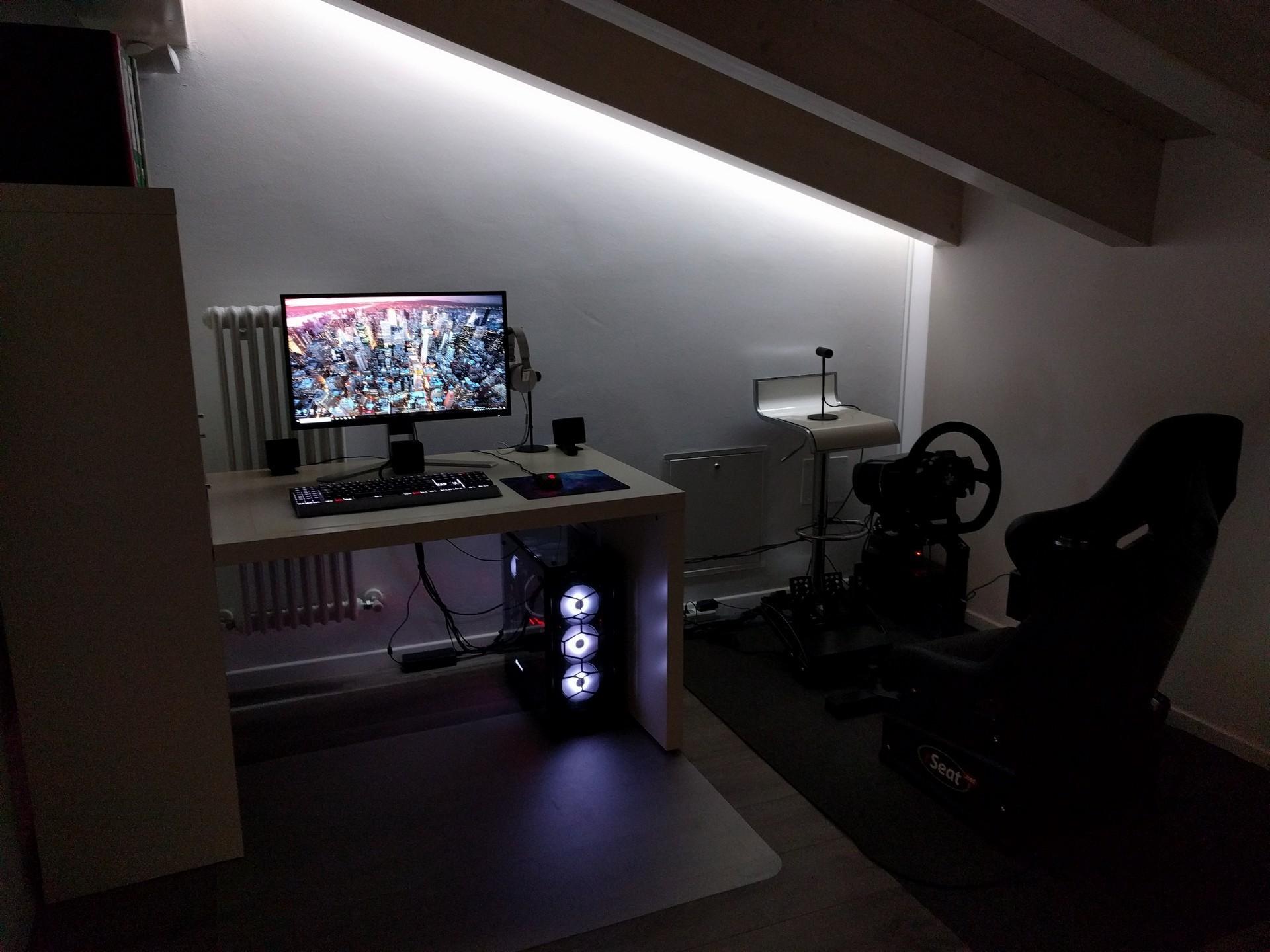 Scrivania Angolo Computer : Postazione gaming pc scrivania angolo moderna weblula