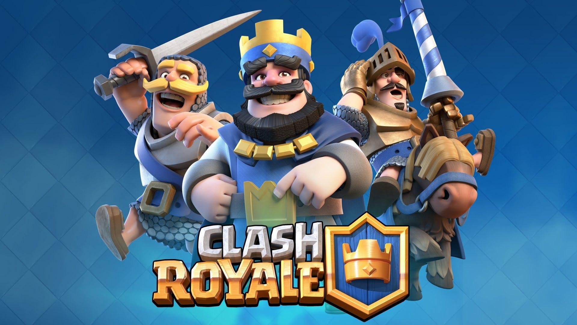 обстановка воинов в clash royale на 4 арене
