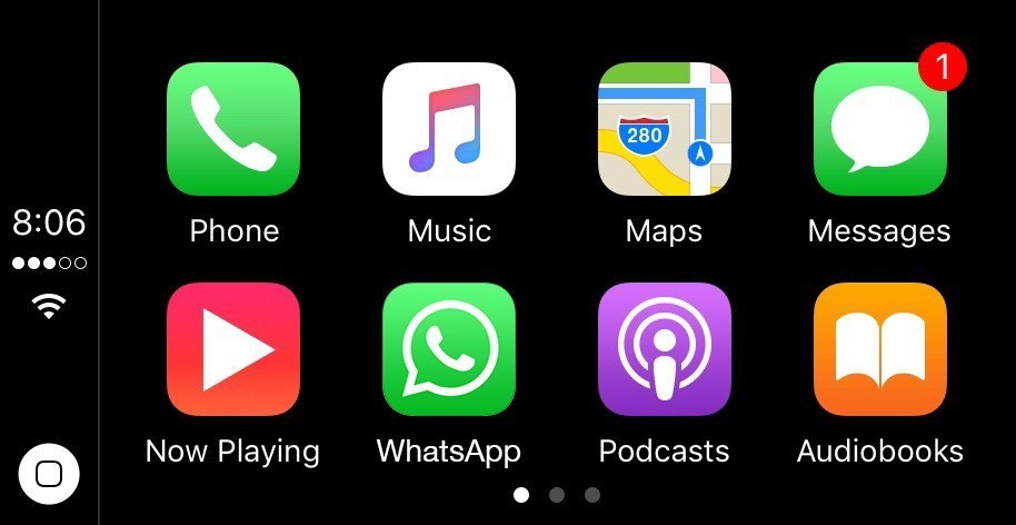 Apple CarPlay, arriva WhatsApp