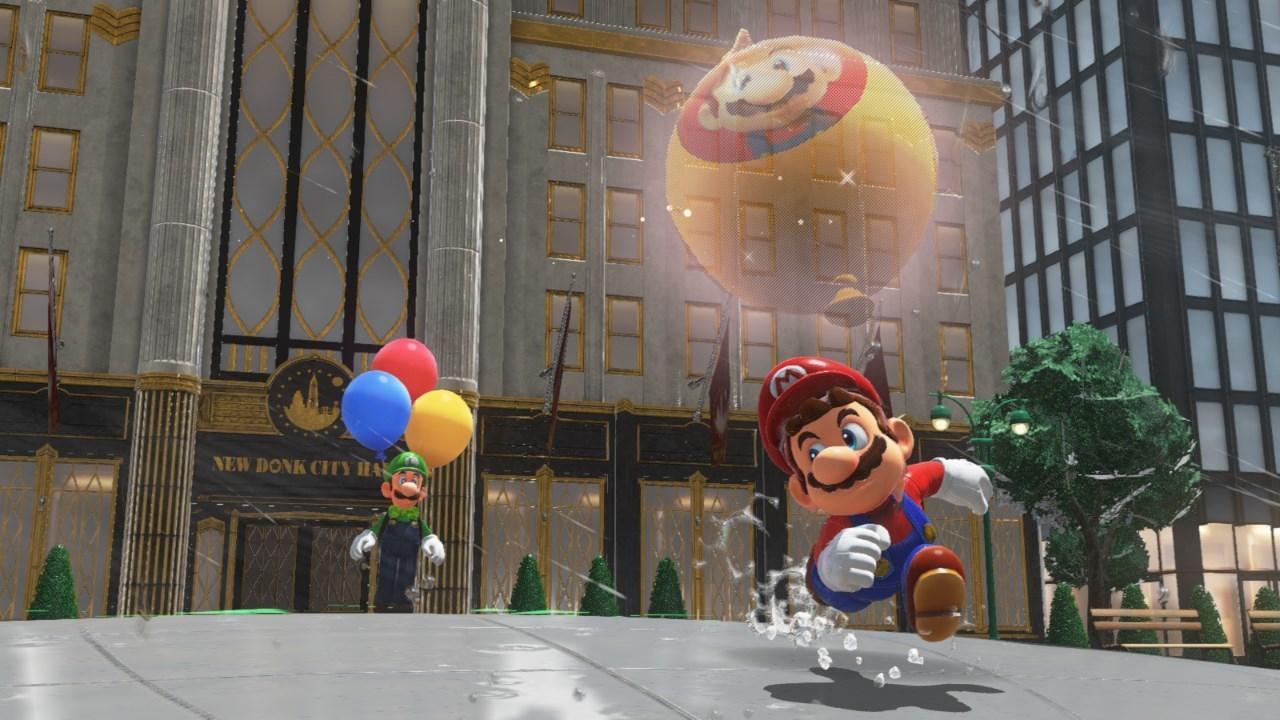 Super Mario Odyssey si aggiorna gratuitamente
