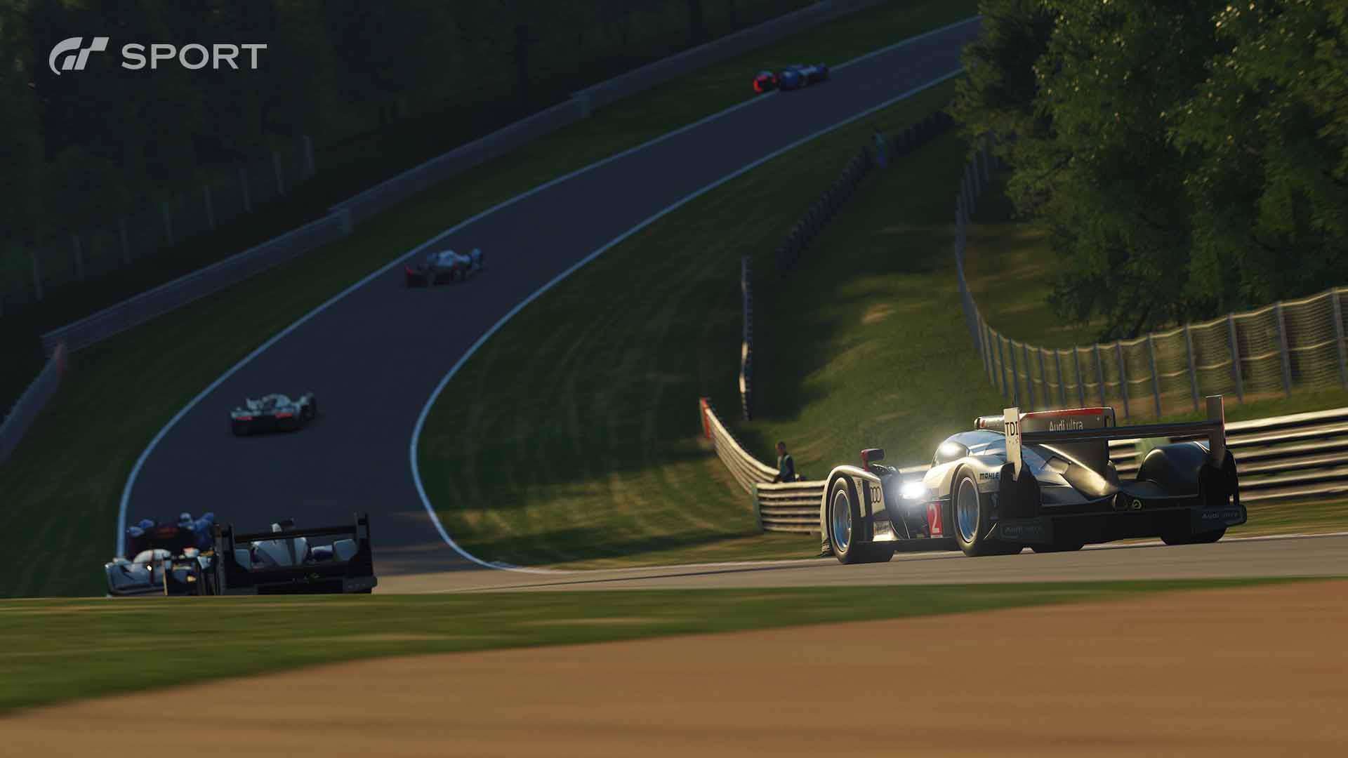 Danni, meteo variabile, 1080p e 60 fps per Gran Turismo Sport