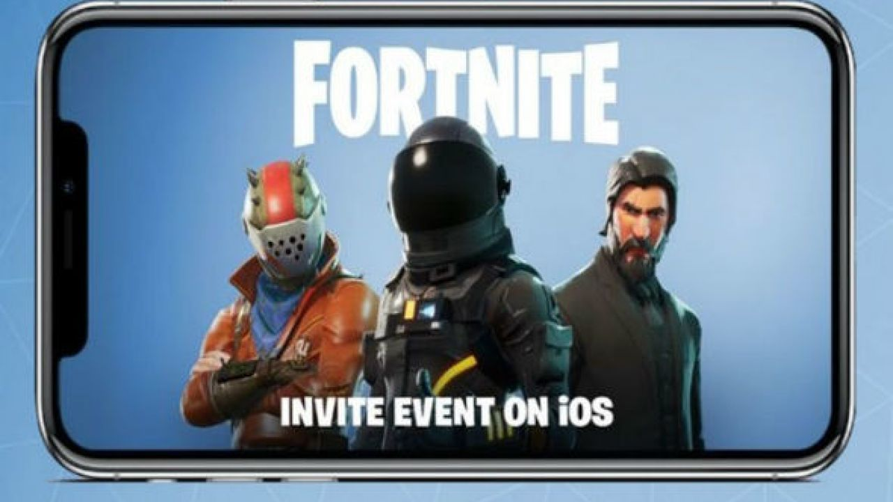 Fortnite Invite Event iOS