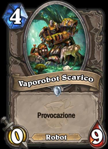 Vaporobot Scarico