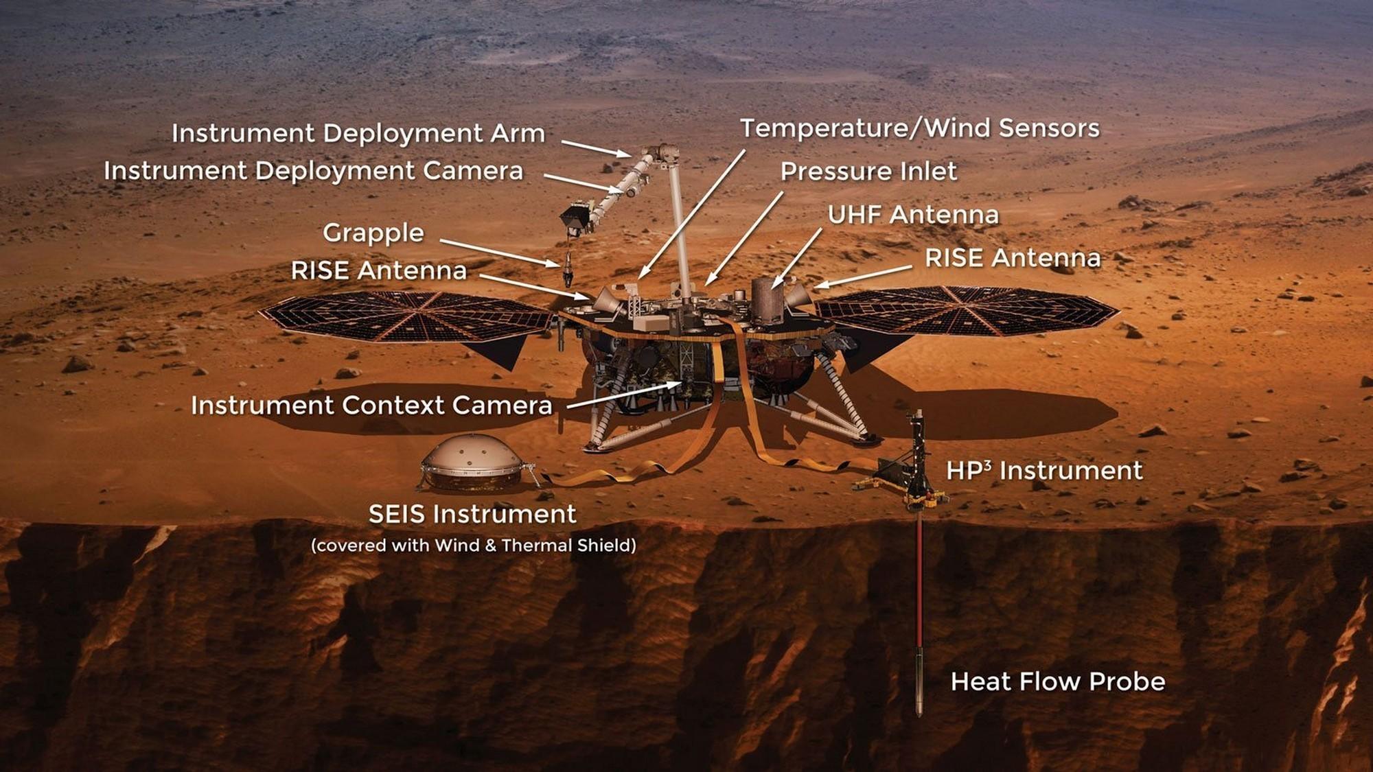 Nasa lancia nuova missione per Marte: InSight studierà terremoti