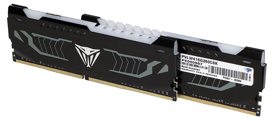 Patriot Viper LED DDR4-3600 16 GB (2 x 8 GB)