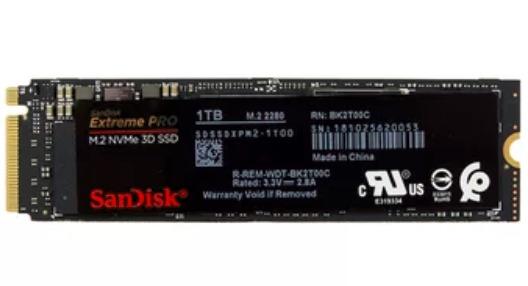 SanDisk Extreme Pro 3D NVMe (1TB)