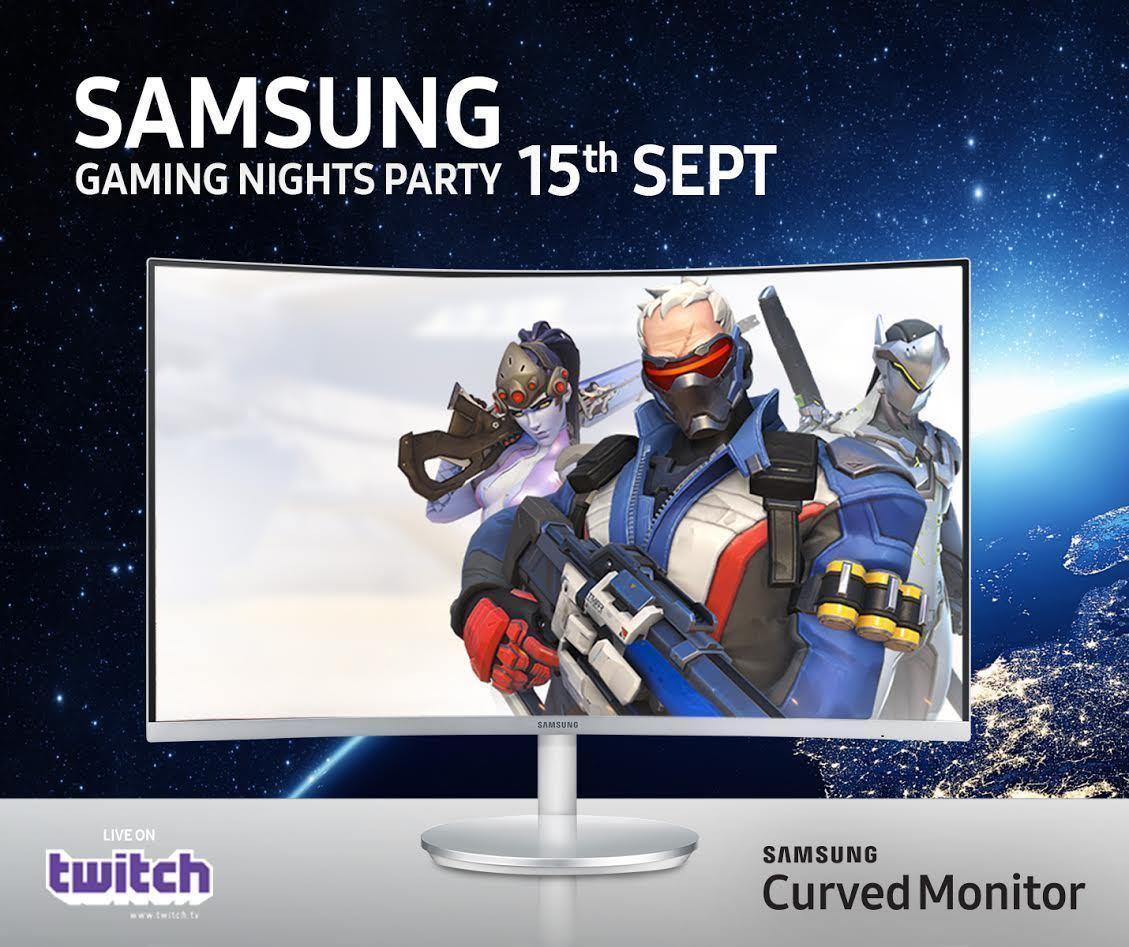 Gioca a overwatch con tom 39 s sui monitor curvi samsung for Samsung arena milano