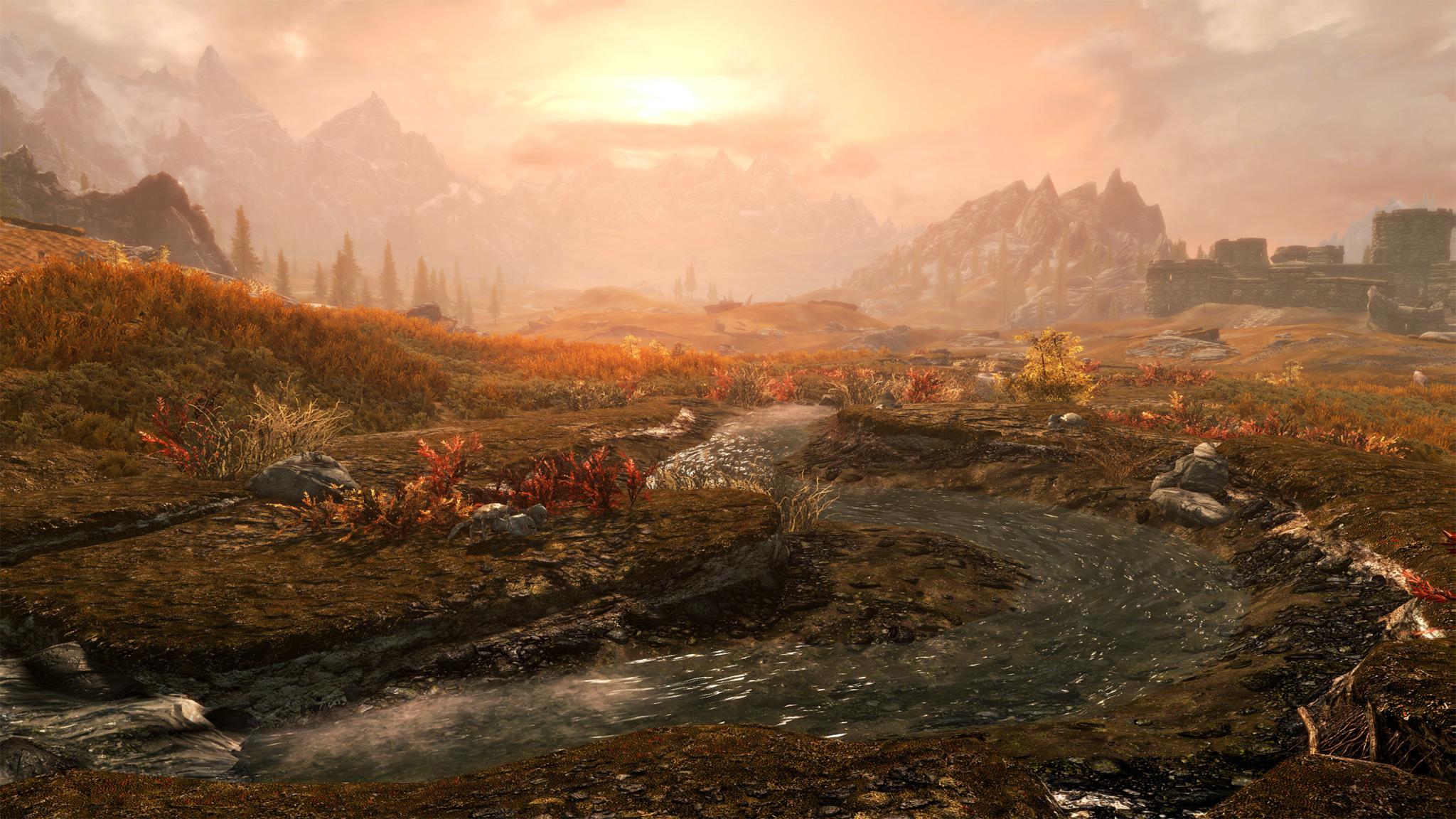 Mod a 4K per Skyrim e Fallout 4 su PlayStation 4 Pro