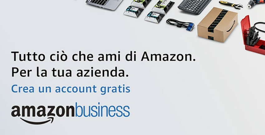 Amazon Business, arriva in Italia l'e-commerce per le imprese