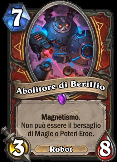 Abolitore di Berillio