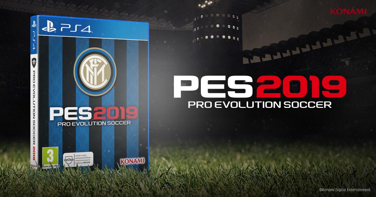 PES 2019, annunciata la speciale 'Inter Edition'