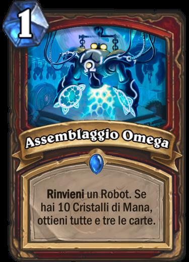 Assemblaggio Omega