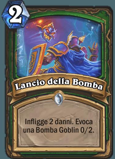 Lancio della Bomba