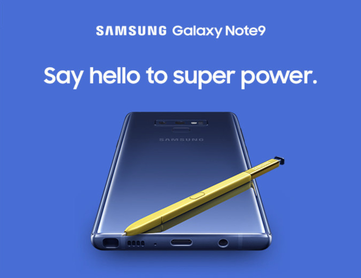 Samsung Galaxy Note 9: preordini aperti su Amazon