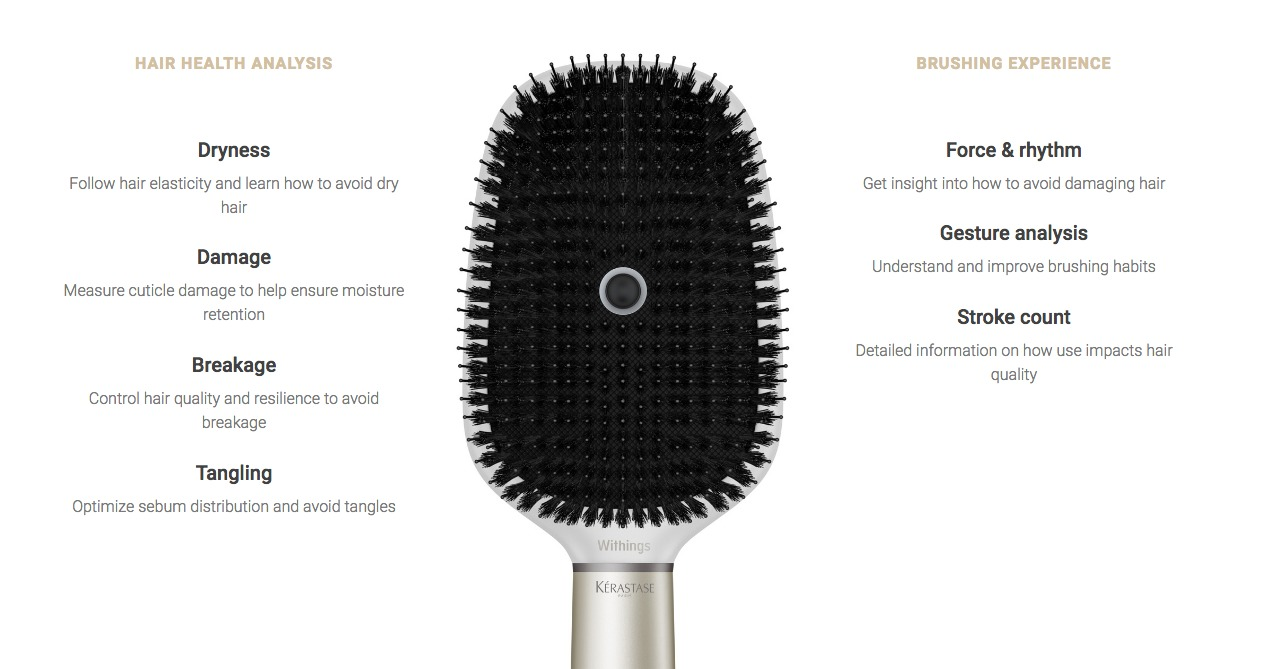 Presentata al CES la spazzola smart, Kérastase Hair Coach