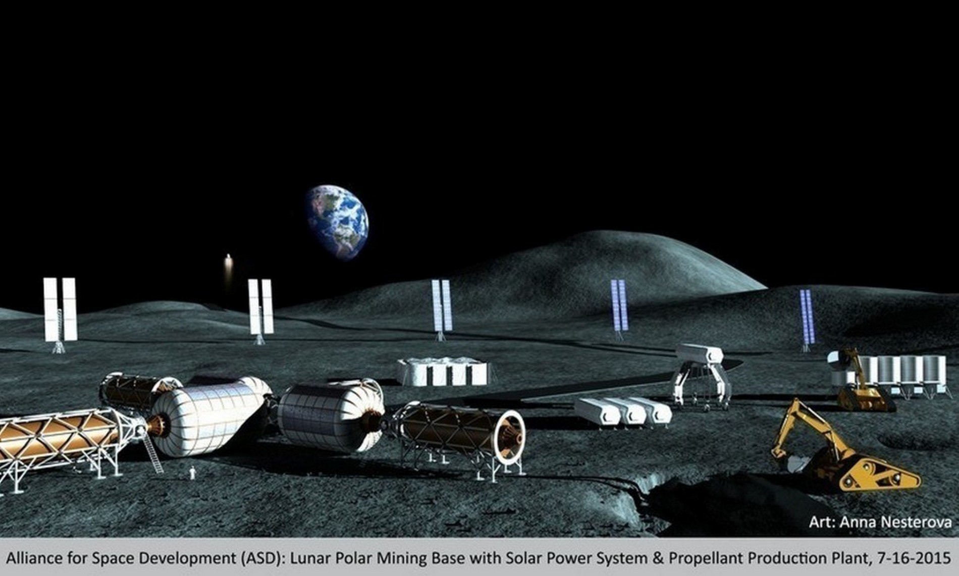 Trovato ghiaccio sulla superficie della Luna