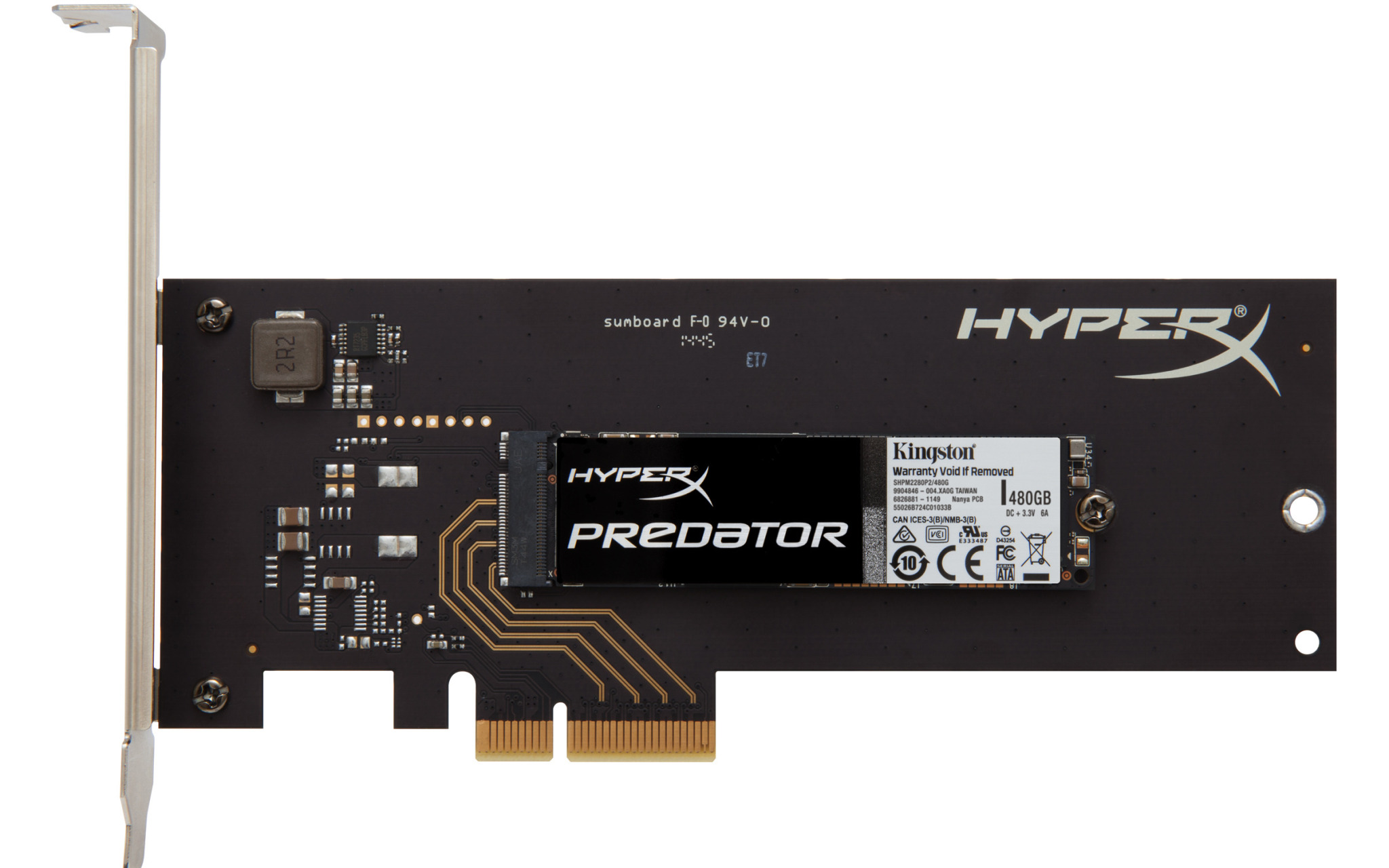 kingston hyperx predator m2 pcie