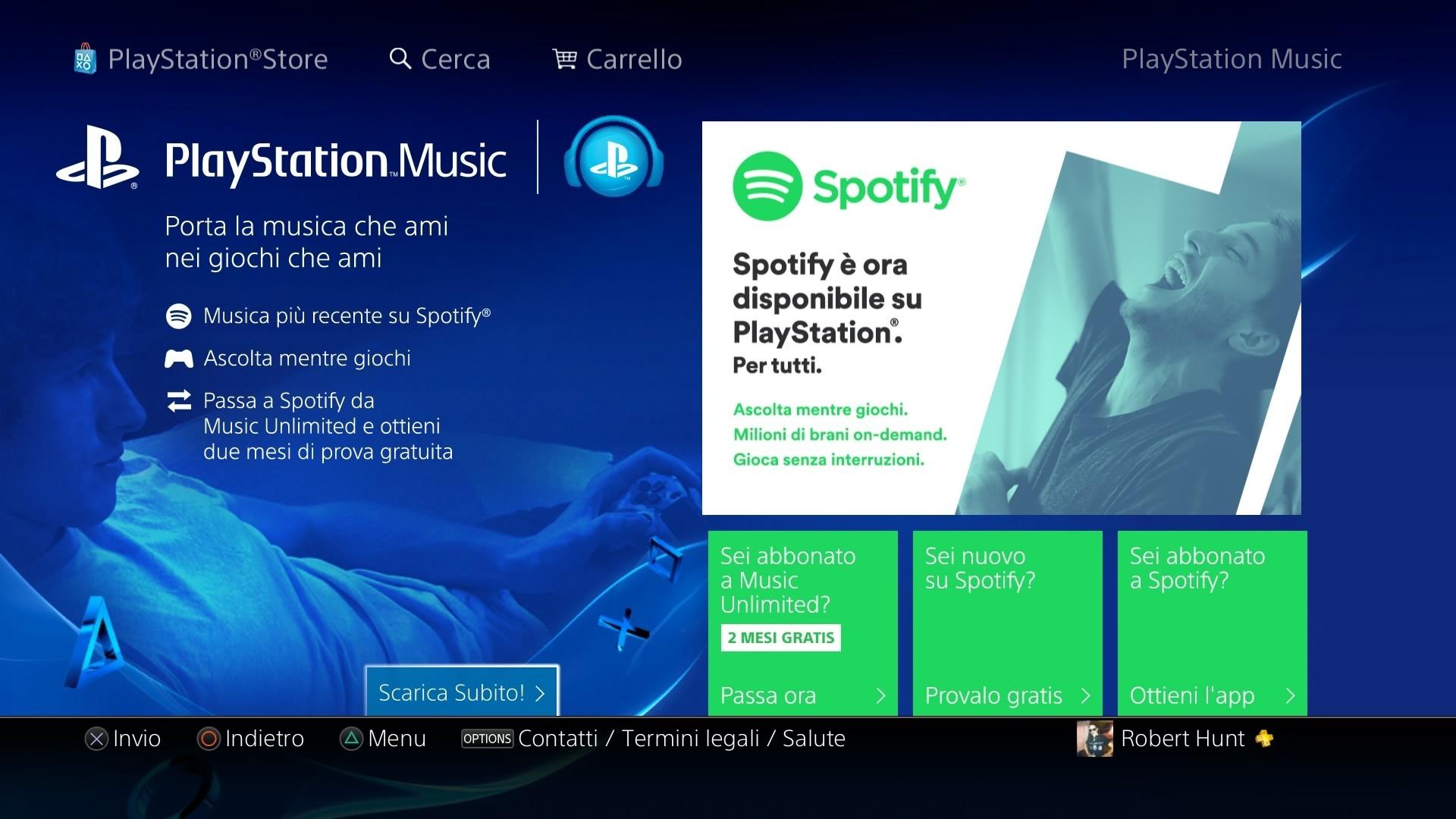 Come usare Spotify su PS4 e PS3 | Game Division