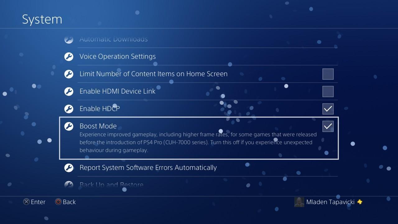 PS4 Pro: in arrivo il Boost Mode…