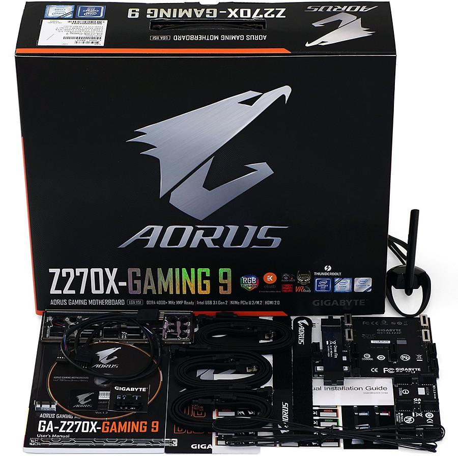Test Gigabyte Aorus Z270x Gaming 9 Costosa E Accessoriata Toms Gaz270x Socket 1151 Kaby Lake 06