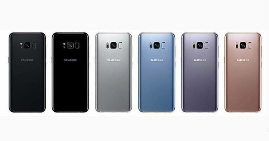 Galaxy S8 colorazioni