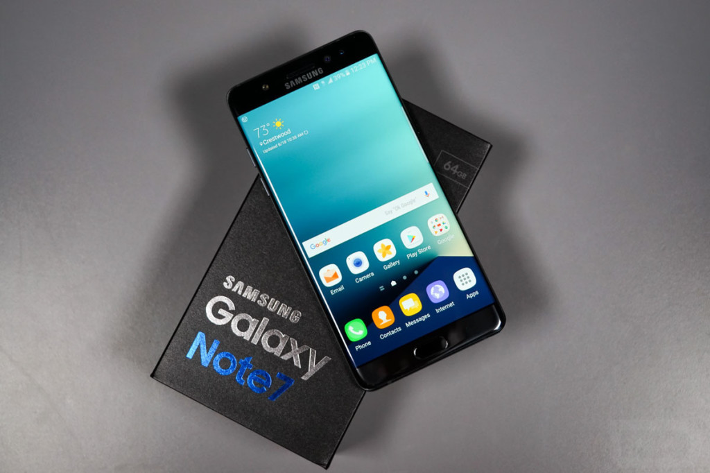 galaxy note 7 unboxing 2