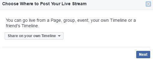 Facebook Live 1