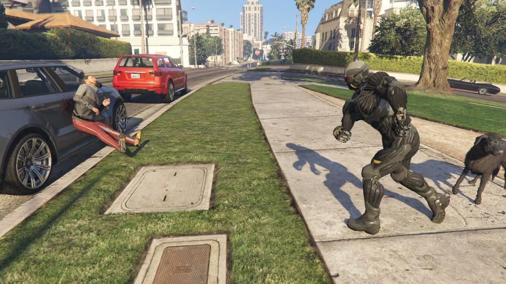 Crysis 4 si gioca in GTA V, arriva la Nanosuit - Tom's Hardware