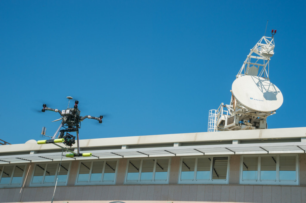 Drone con live streaming video 5G