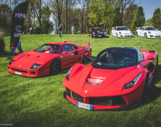 Cars & Coffee Brescia visto da Norman Gabalin di Supercarage