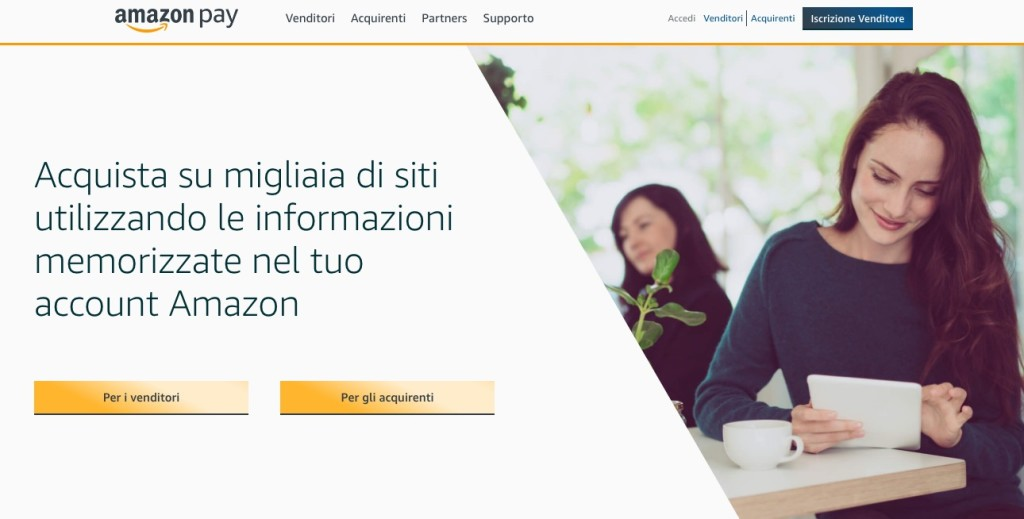 Acquisti Online: Arriva in Italia Amazon Pay