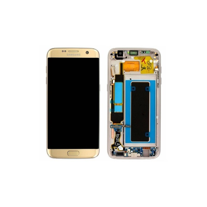 display samsung sm g935 galaxy s7 edge gold