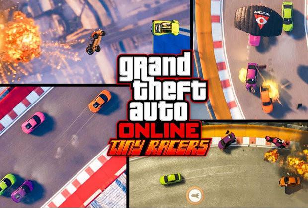 GTA Online: trailer della nuova modalità Tiny Racer