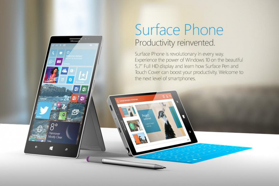 Microsoft surface phone 3