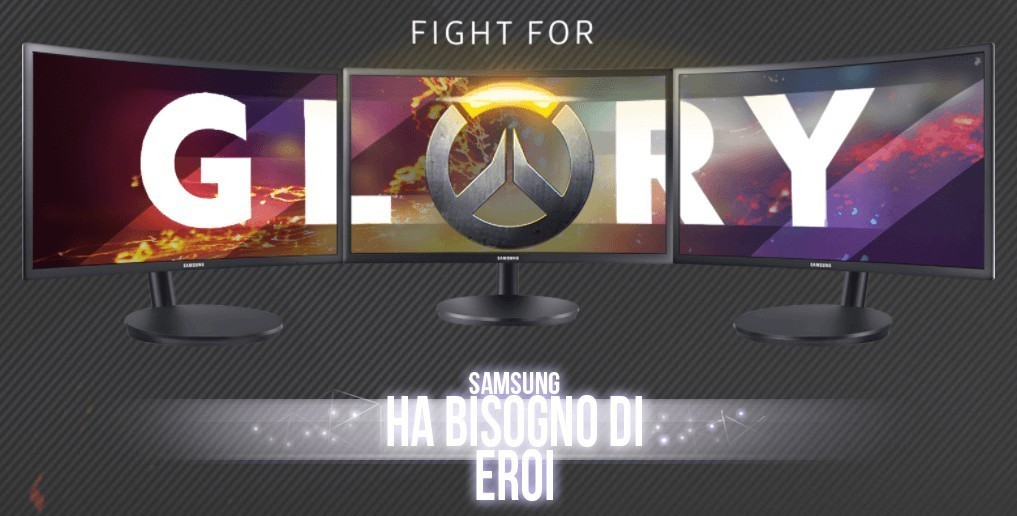 samsung presenta fight for glory overwatch