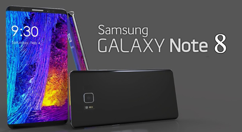 Galaxy Note 8 render