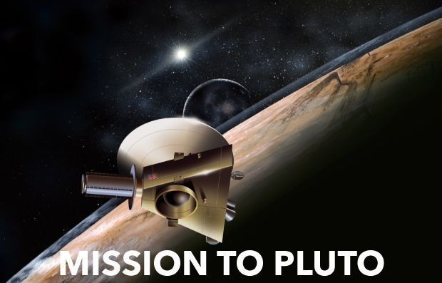 New Horizons becomes the first probe to explore Pluto in mid 2015   taglio