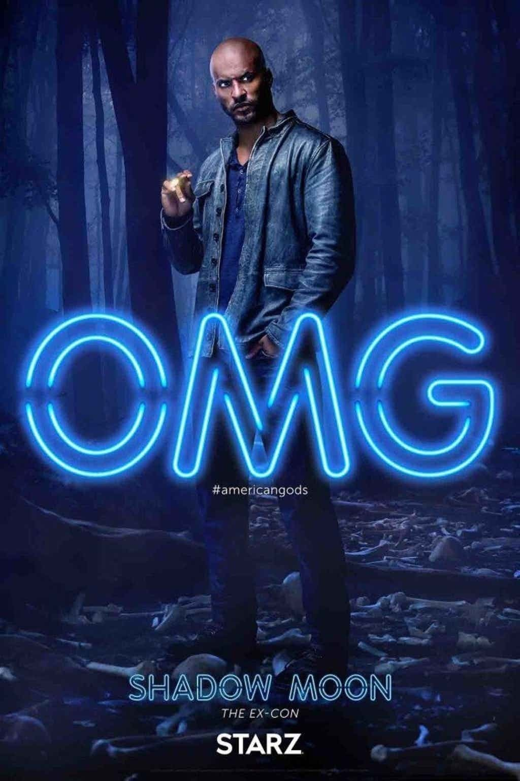 Shadow Moon Poster from American Gods TV Show