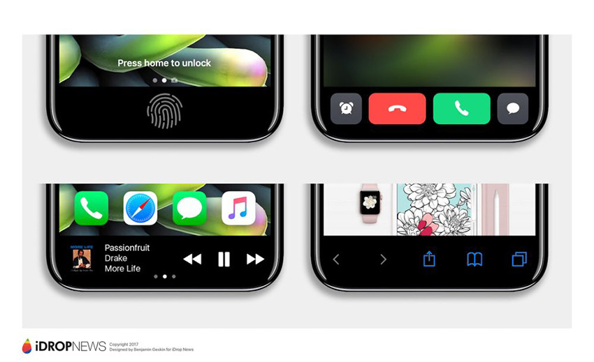 iphone 8 function area 3