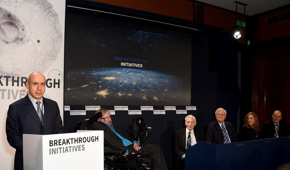 stephen hawking alien life breakthrough initiatives