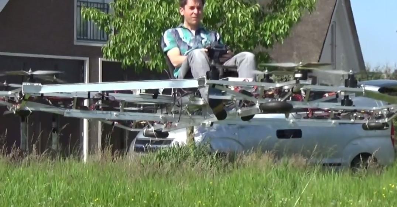 Costruisci anche tu un'auto volante: il progetto è sul Web