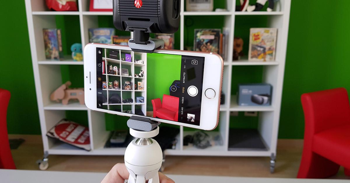 Il kit perfetto per girare video con lo smartphone